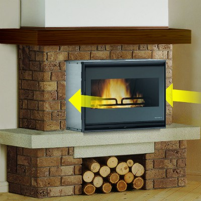 Inserto a legna Ecopalex Glass Palazzetti