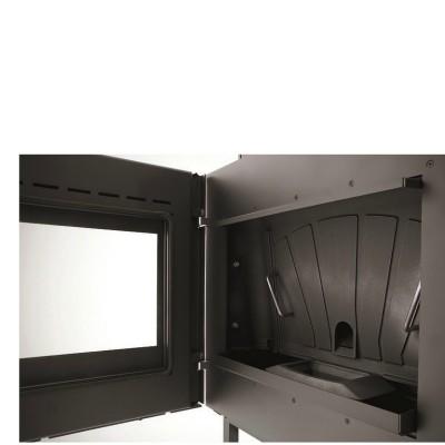 Inserto a pellet Canalizzabile vetro estetico Palazzetti