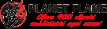 Planet Flame Logo